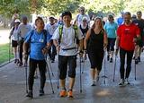 Nordic Walking In Hyde Park, London Opt